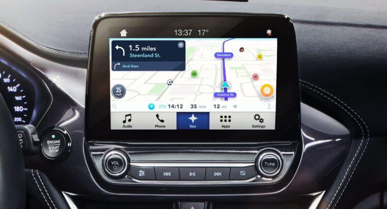 In-Dash DVD/GPS Navigation Receiver
